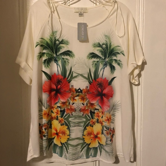 Forever 21 Tops - Tropical top!